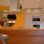 Traumwand 8 - Farbige Küchengestaltung