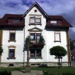 Denkmalgeschützte Fassade Hauptstrasse Iffezheim vorher